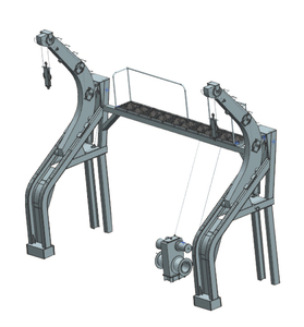 Gravity Sliding type Davit